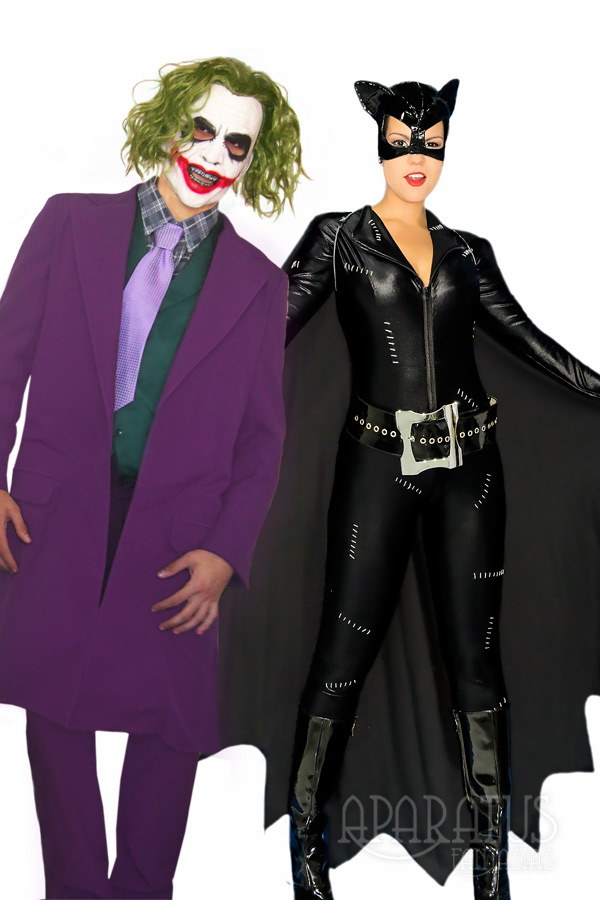 Coringa e Mulher Gato